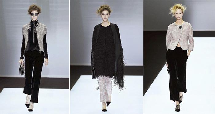 f2d684f75 E para a noite o veludo é mesclado com tecidos preciosos que dão vida às roupas  e que